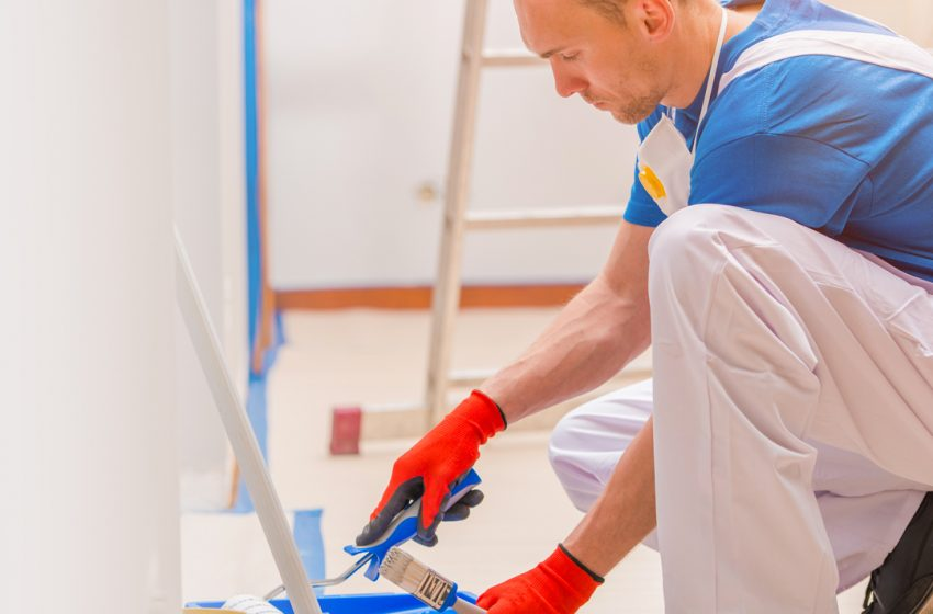 A fresh coat of paint adds value to your home and makes it more attractive.