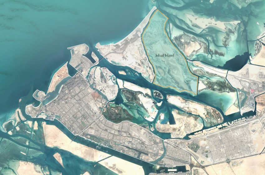 What's happening with Abu Dhabi's Jubail Island?
